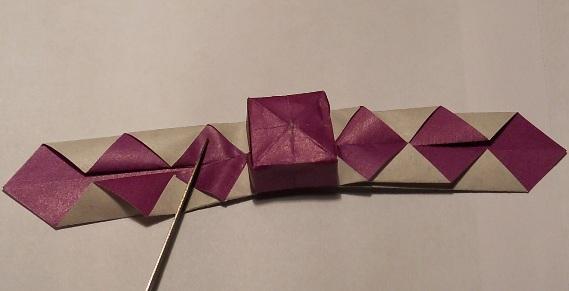 Оригами подарок маме своими руками
