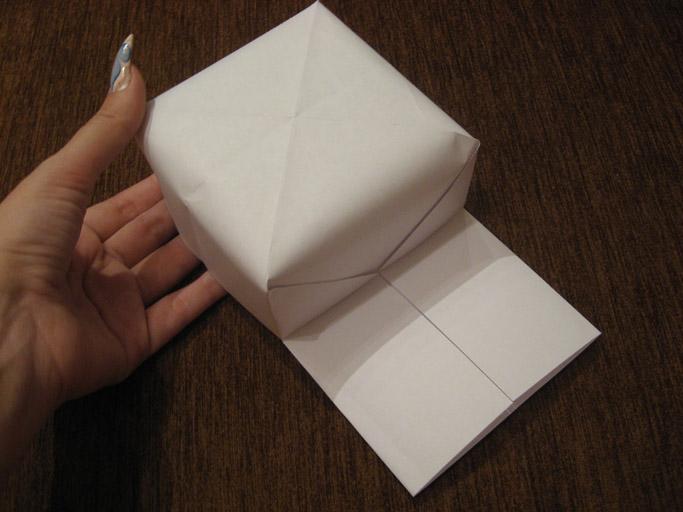 Кепка козырек оригами