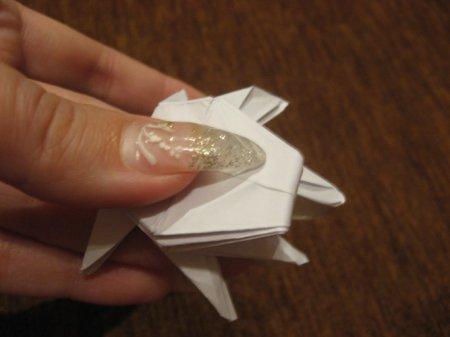 как делать из бумаги паука