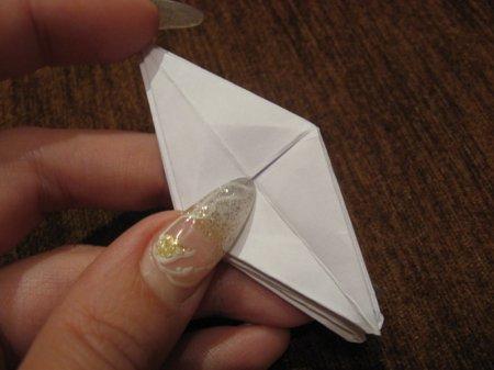 как делать из бумаги паука.