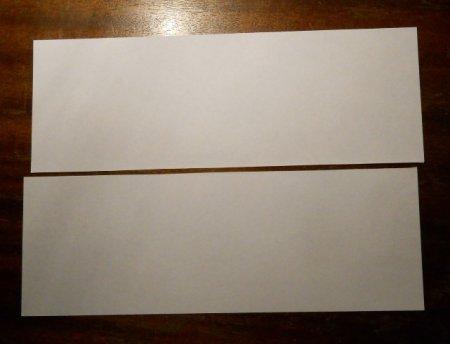 как сделать бумеранг из бумаги.