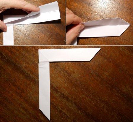 оригами бумеранг видео
