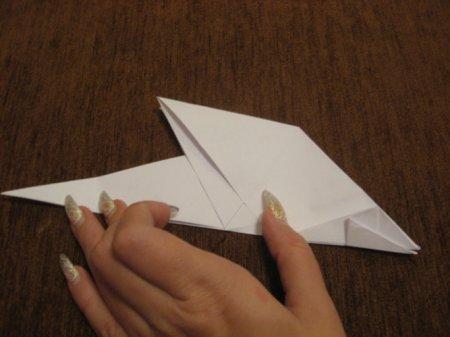 оригами дракон схема.