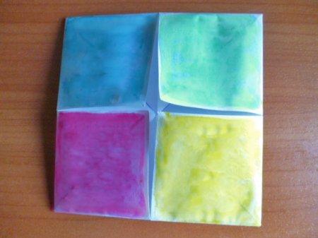 схема оригами гадалка.