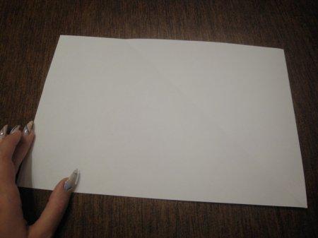 как сделать из бумаги кепку