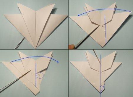 оригами истребитель f 15